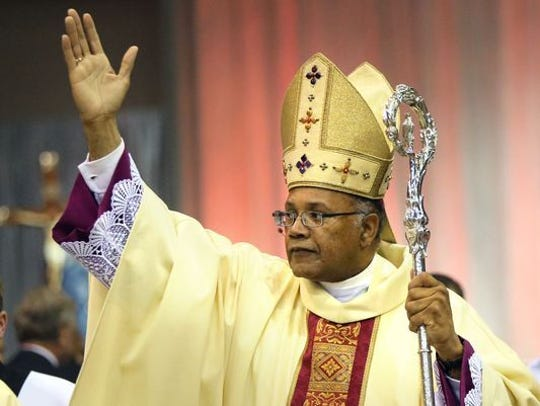 Bishop Martin Holley of the Catholic Diocese of Memphis