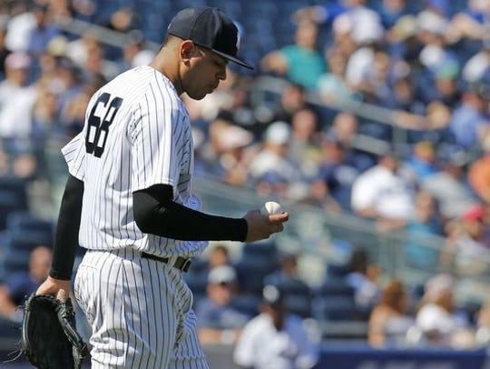 Yankees' reliever Dellin Betances.