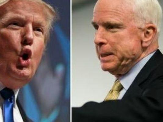 Trump McCain
