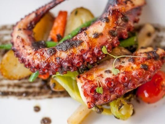 The Octopus at Zeugma in Montclair.