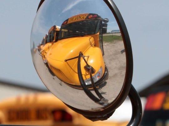 Caddo Parish school bus