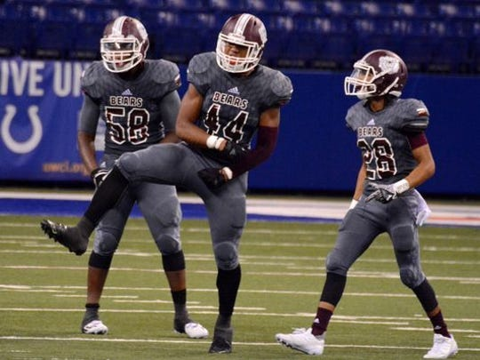 Lawrence Central linebacker Cameron McGrone will make