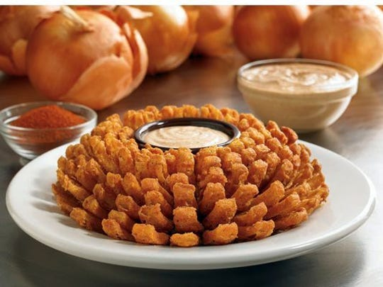 Enjoy a free Bloomin' Onion at Outback Steakhouse for Veterans Day.