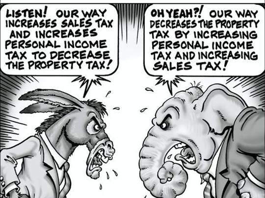 The debate over property taxes has been going on for years.
