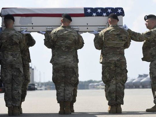 More than 2,400 U.S. troops have lost their lives in