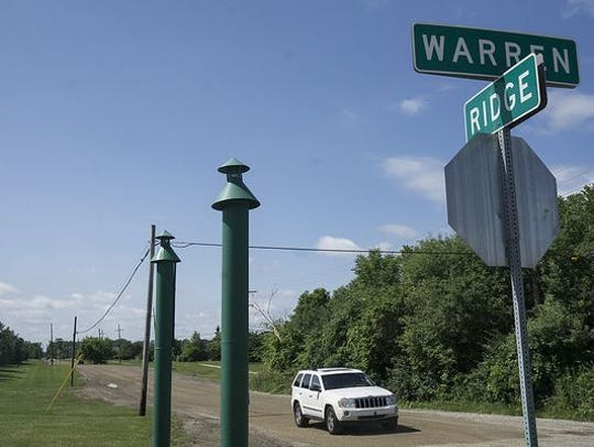 Ridge Road is now in line to be paved from Warren to