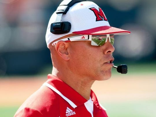 Don Treadwell, former head coach at Miami (Ohio), will
