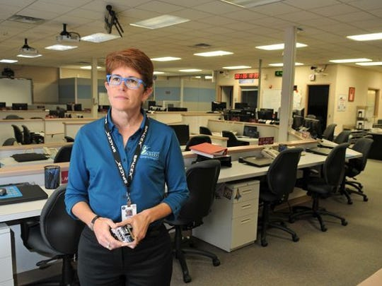 Kimberly Prosser, director of Brevard County Emergency Management, met with several officials early Monday to discuss Hurricane Irma