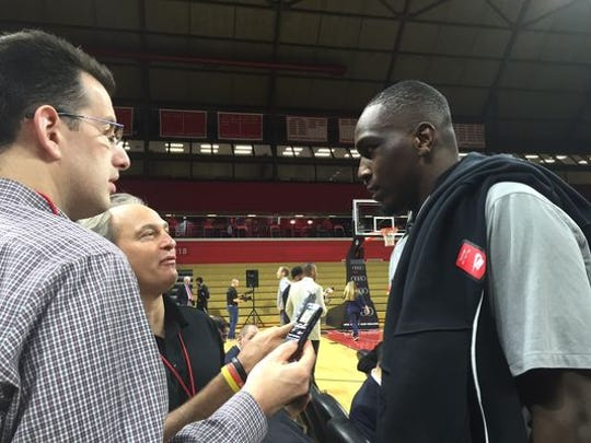 Jameel Warney came to the RAC in March of 2016 for