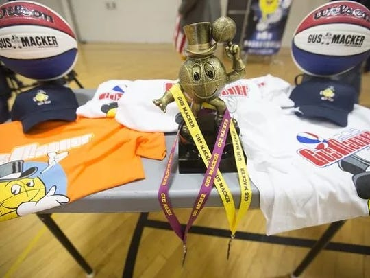 The Gus Macker basketball tournament will take place Sept. 9-10, 2017 in Stevens Point.