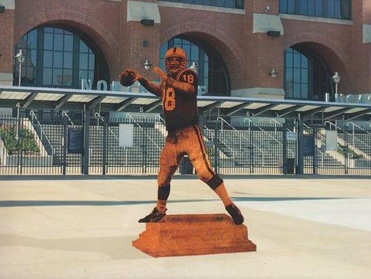 Bronze Peyton Manning.