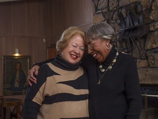 Jocelyn Wurzburg (left) and Modeane Thompson
