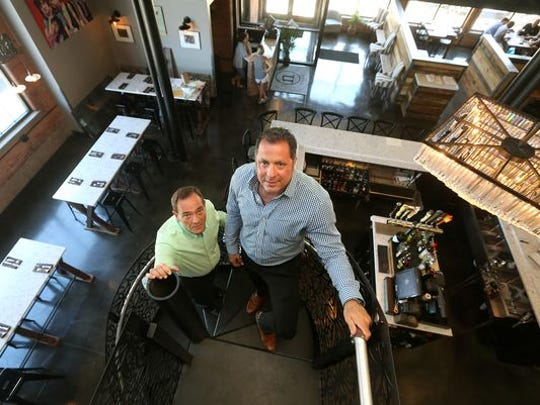 Nosh owners Pete Lezeska and John Nacca will be expanding into an event space