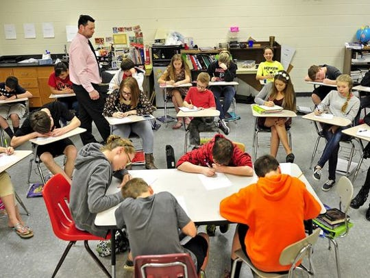 Williamson County's elementary and middle school students