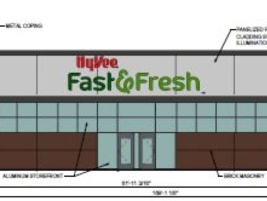 Hy-Vee Inc. plans to build a Fast & Fresh store near