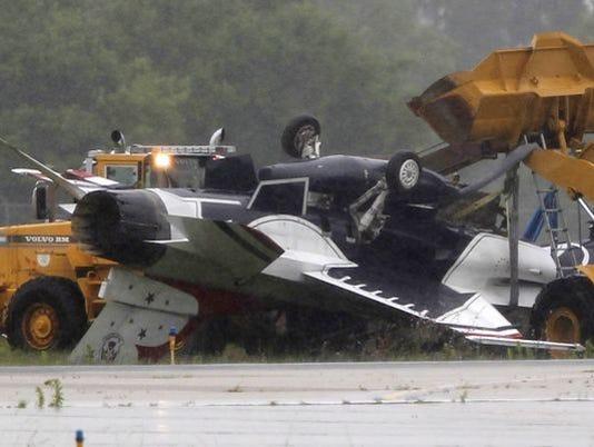 Plane crash in Dayton