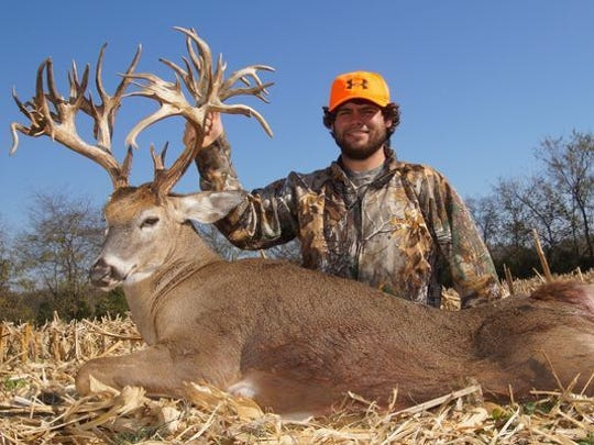 Gallatin resident Stephen Tucker killed this deer, which was a world record, on Nov. 7, 2016. Tucker has not killed a deer since then.