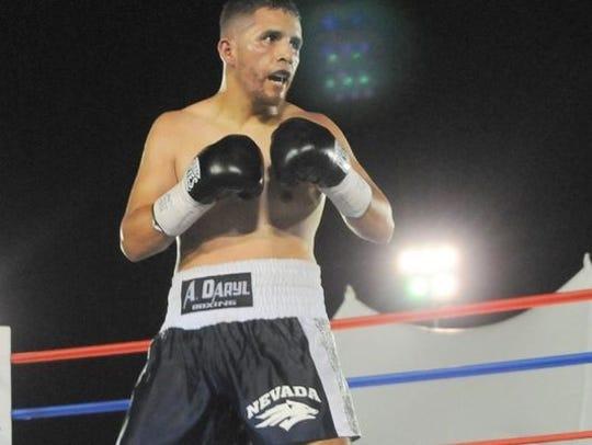 Reno's Oscar Vasquez will fight Friday in the co-main