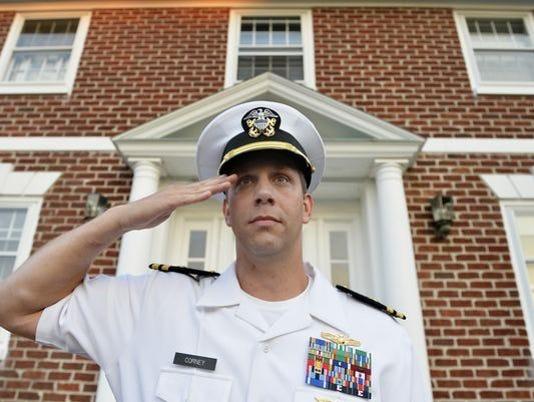 Navy Lt. Joshua Corney