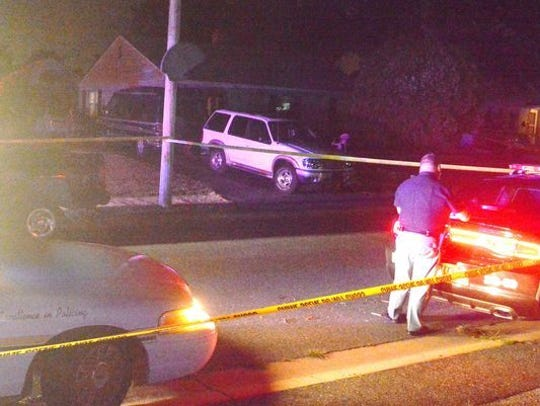 Two men were shot, one of them fatally, in a home invasion
