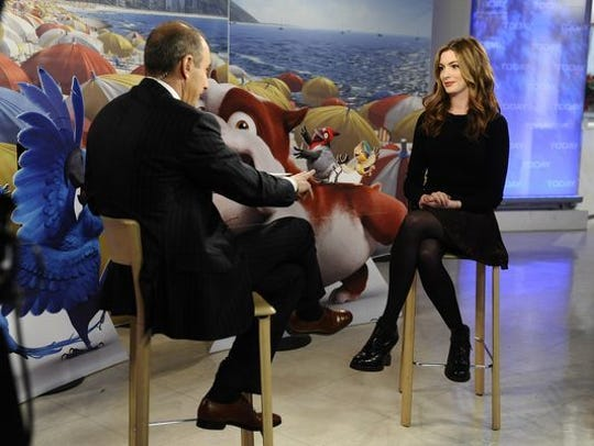 Matt Lauer once asked if she'd learned her 'lesson'
