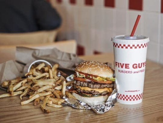 The Springettsbury Township Five Guys location closed