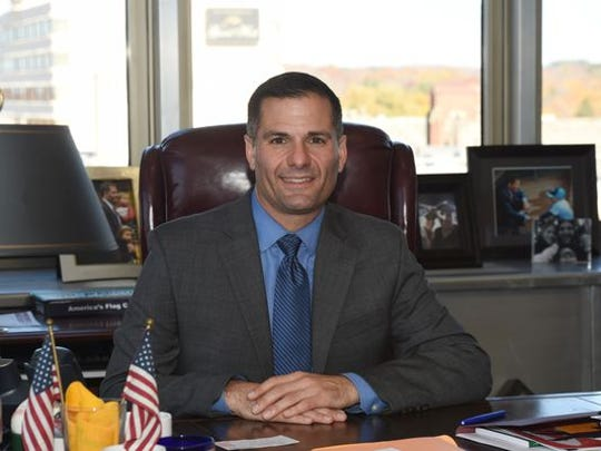 Dutchess County executive Marcus Molinaro