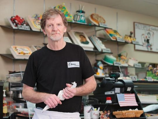 Jack Phillips, owner of Masterpiece Cakeshop in Denver,