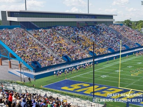 UD's Delaware Stadium is in line for a $60 million