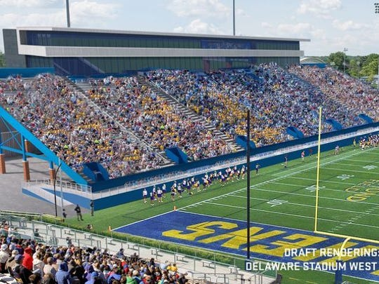 UD's Delaware Stadium is in line for a $60 million makeover.