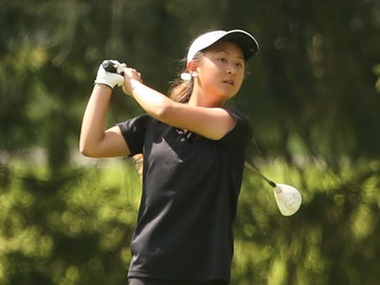 Central Kitsap golfer Brittany Kwon won her second consecutive Class 3A state golf title in May.
