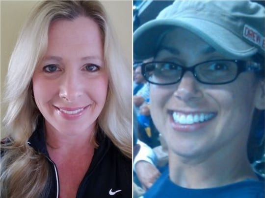 Debra Miller (left) and Stacey Sparacino are two registered nurses who revived a 5-year-old boy who had nearly drowned in the pool at the Princeton Club in New Berlin.