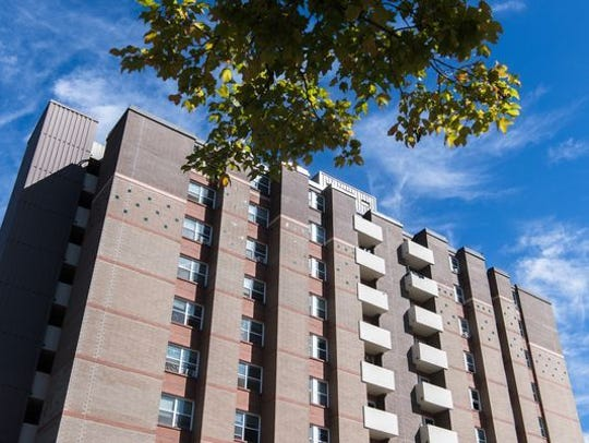 Cleanup from an October fire at Aston Park Tower cost