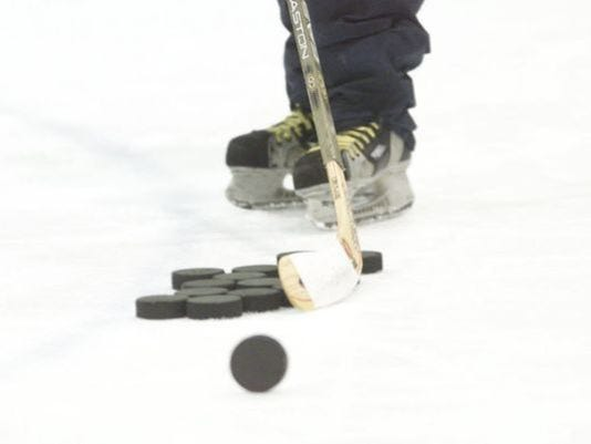 Hockey stock photo