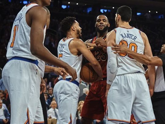 Enes Kanter reignited his feud with LeBron James on