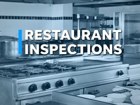 The following restaurant inspections with critical violations were conducted by the Licking County Health Department.