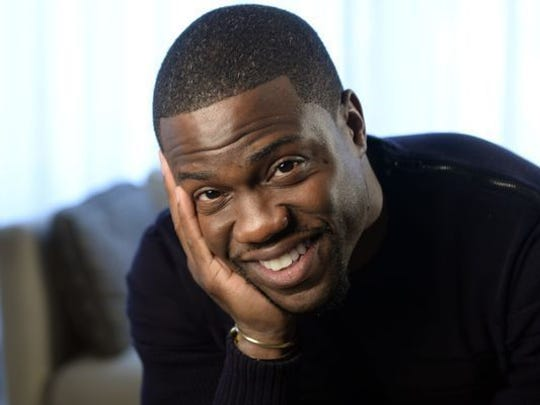 Kevin Hart performs at U.S. Bank Arena on May 19.