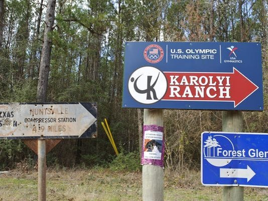 Karolyi Ranch north of Houston