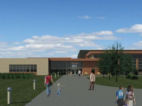 A rendering of Ankeny elementary #11.