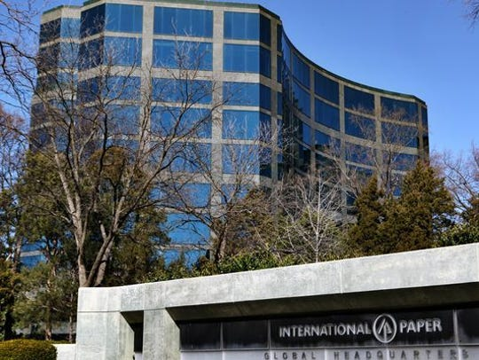 Memphis-based International Paper Co. was awarded a PILOT tax cut on the office complex built on Poplar Avenue.