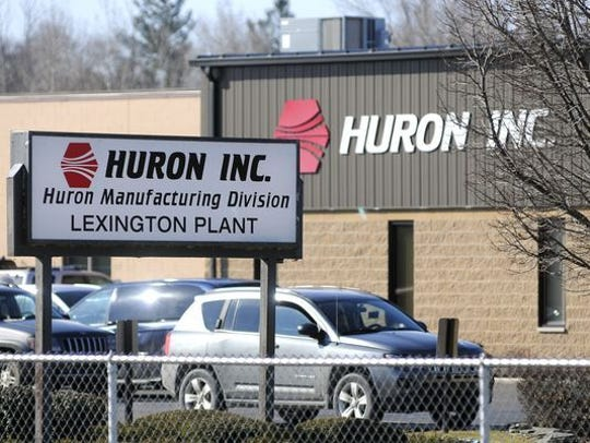 Huron, Inc. is building an addition at its Worth Township