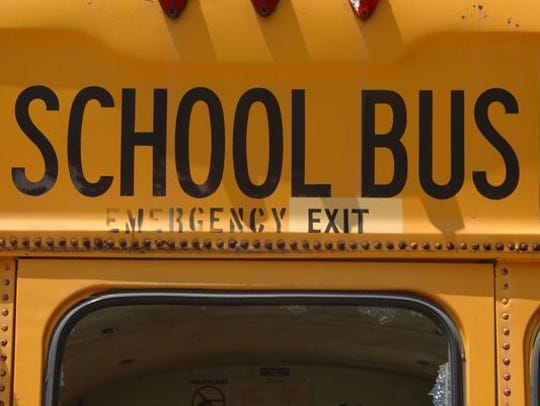 A Pleasant Local Schools bus driver was cited in a minor-injury crash on Ohio 98 after a school bus rear-ended a 2008 Ford Fusion Tuesday afternoon.