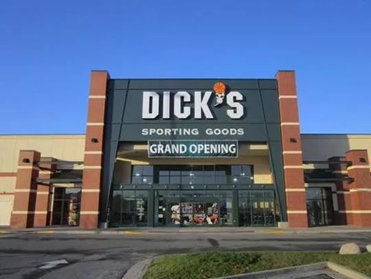 Dick's sporting goods.