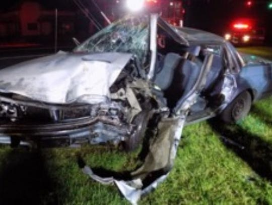 James Huffman was charged in this September crash in