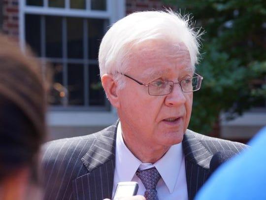 Wilmington attorney Joe Hurley in 2013.