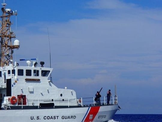 A small place went down 23 miles off Palm Beach on Friday afternoon, Feb. 1, 2019, the U.S. Coast Guard said.