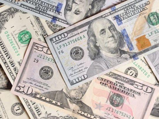Stock image of money