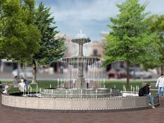 Fate of new Kellogg Park fountain uncertain in downtown Plymouth