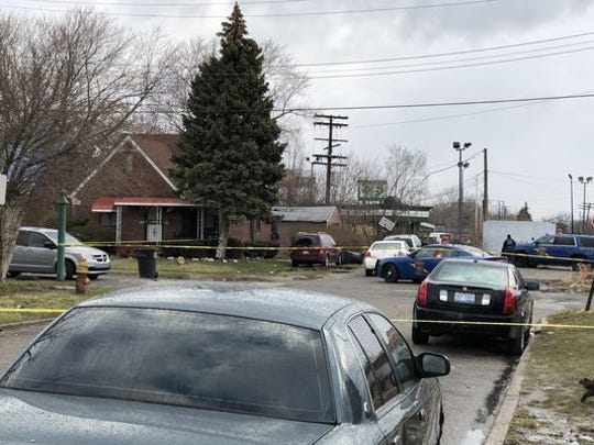 Police tracked a suspect sought in connection to a crime spree that hit Canton and Northville townships to Highland Park and then Detroit, where he exchanged shots with troopers and was later found dead.