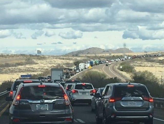 Restrictions to Flagstaff I-40, I-17 interchange start Monday